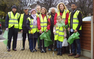 Litter picking: December 2015